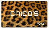 $250 CHICO'S GIFT CARD