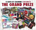 $300 of Markers, Colored Pencils, Gel Pens, Coloring Books and More