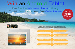 """""""4G Android Tablet + Business Information Products ($500 Prize Value) Giveaway"""