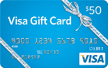 $50, $25 or $15 Gift Card