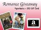 $50 Amazon Gift Card and Outlander & Safe Haven Paperback