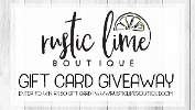 $50 Gift Card to Rustic Lime Boutique