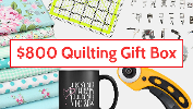 $800 Quilting Gift Box