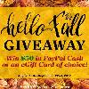 'Hello Fall' Giveaway image