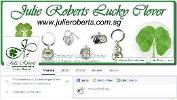 """Win a Julie Roberts' Lucky 7 leaf clover (worth S$900) or a Mystical 6 leaf clover (worth S$399)"