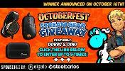 1 winner wins an Elgato Capture Card HD60 S & 1 winner wins a SteelSeries Arctis 5 & Rival 310 !!