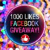 1000 Likes Facebook Giveaway by Ymiko