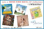 2 WINNERS Will Receive: A Moms Who Rock Music Prize Package! A $112.00 TRV Giveaway! ($56 Prize Packs) WIN 5 Albums (including 1 download link for The Great Indoors)!