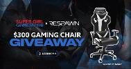 3 Winners will win a $300 Gaming Chair each!!