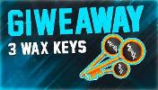 3 Winners will win a WAX Key