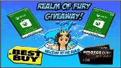 5 prizes totaling $300!!! 1x $100 Best Buy eGift Card ; 2x $50 Xbox Digital Gift Card & 2x $50 Amazon Digital Gift Card  Good Luck!