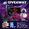 5 WINNERS! Grand Prize = MSI Trident X Plus Gaming PC (Used at RWF Event) , CORSAIR K95 Mechanical Gaming Keyboard, CORSAIR Scimitar Gaming Mouse ,CORSAIR Virtuoso Gaming Headset (White or Black)+ more...