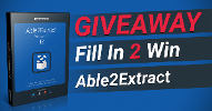 Able2Extract 12 Boxshot Giveaway