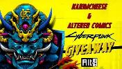 Altered Comics and KarimCheese have come together to giveaway 2 free copies of CyberPunk 2077 away to 2 lucky individuals on the platform of their choosing!