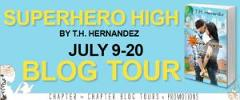 Blog Tour: Superhero High by T.H. Hernandez – Interview and Giveaway