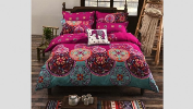 Bohemian Style Bed Set