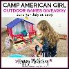 Camp American Girl Outdoor Game Giveaway