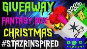 Christmas Giveaway Fantasy Box #STAZRINSPIRED