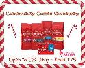 Community coffee giveaway
