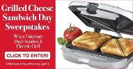 CUISINART DUAL-SANDWICH ELECTRIC GRILL