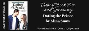 Dating the Prince by Alina Snow Book Tour & Gift Basket Giveaway