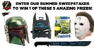Enter Our Summer Sweepstakes to Win 1 of 5 Prizes