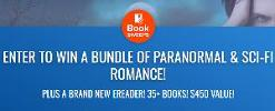 ENTER TO WIN A BUNDLE OF PARANORMAL & SCI-FI ROMANCE! PLUS A BRAND NEW EREADER! 35+ BOOKS! $450 VALUE!