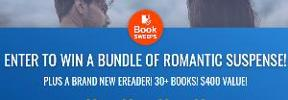ENTER TO WIN A BUNDLE OF ROMANTIC SUSPENSE! PLUS A BRAND NEW EREADER! 30+ BOOKS! $400 VALUE!