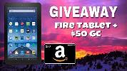 Enter to win a #FireTablet + $50 #GiftCard!
