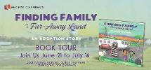 Enter to win a signed copy of Amanda Wall's FINDING FAMILY IN A FAR-AWAY LAND! (one winner/USA only)