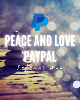 Enter to win the Peace and Love PayPal Instant win for your chance to win a $10 PayPal gift card. PLUS there will be one lucky winner who will spin and win a $50 grand prize!