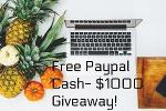 Free Cash | $1000 Giveaway