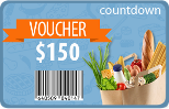 free groceries at Countdown