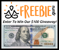 Freebie Guru $100 Cash Giveaway