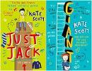 Giant & Just Jack by Kate Scott - Book Review, Interview & Giveaway