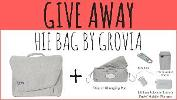 GIVEAWAY HIE Bag by Grovia