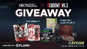 Grand Prize (1) = 1 x Resident Evil 3 Collectors Edition,1 x PS4 Pro 1TB, 1 x Year Supply of G FUEL (12 Tubs),1 x Variety Pack Cans (12 Pack),1 x Nemesis Tea Flavor G FUEL Tub... + 9 runners up prizes