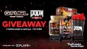 Grand Prize =1 x PS4 Pro 1TB ,1 x Year Supply of G FUEL, 2 x Variety Pack Cans (12 Pack), 1 x Spicy Demon'ade G FUEL Collectors Box & 1 x Spicy Demon'ade BFG Edition + 24 runners up!!