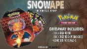 Grand Prize: 1x Pokemon TCG Hidden Fates: Charizard GX Tin & Secondary Prize: 1x Random Pokemon Trading Card Game Online Pack Codes!