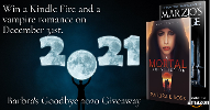 Grand Prize~ Kindle Fire and a Vampire romance series! 2nd Prize~ $25 Amazon Gift Card & 3rd Prize~ $10 Amazon Giftcard!