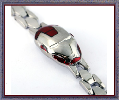 Iron Man SIlver Plated Bracelets