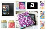 Kindle Fire 7, Amazon Gift Card, Kindle Sleeve, Mug, Chocolate & Tea Giveaway