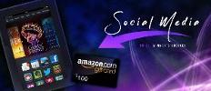 Kindle Fire or $100 Amazon Gift Card