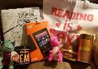 Kindle + Sherillyn Kenyon Coloring Book + Tote Bag + Godiva Treats Mug + Dragons