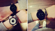 Leather Band Retro Watch