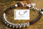 Leather Wire-Wrapped Bracelet Kit Giveaway