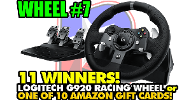 Logitech Driving Force G920 & Gift Cards
