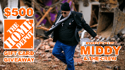 Middy & The Crew's $500 Home Depot Giveaway