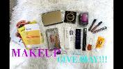 New Launch of Cosmetics Giveaway!