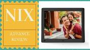 NIX Advance 8-inch Hi-Res Digital Photo Frame w/ Motion Sensor